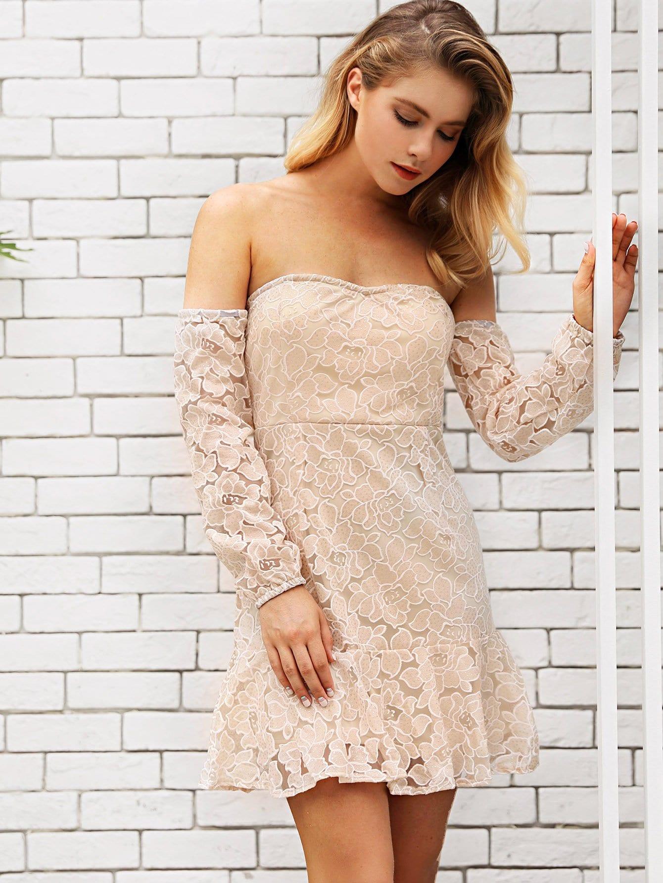 Lace Off Shoulder Dress lace off shoulder dress