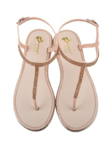 Toe Post Flat Sandals