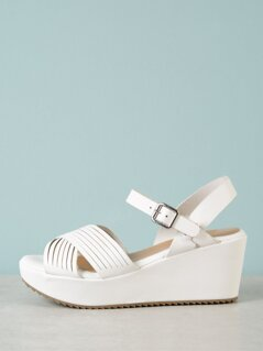 Sling Back Strappy Wedge Sandal