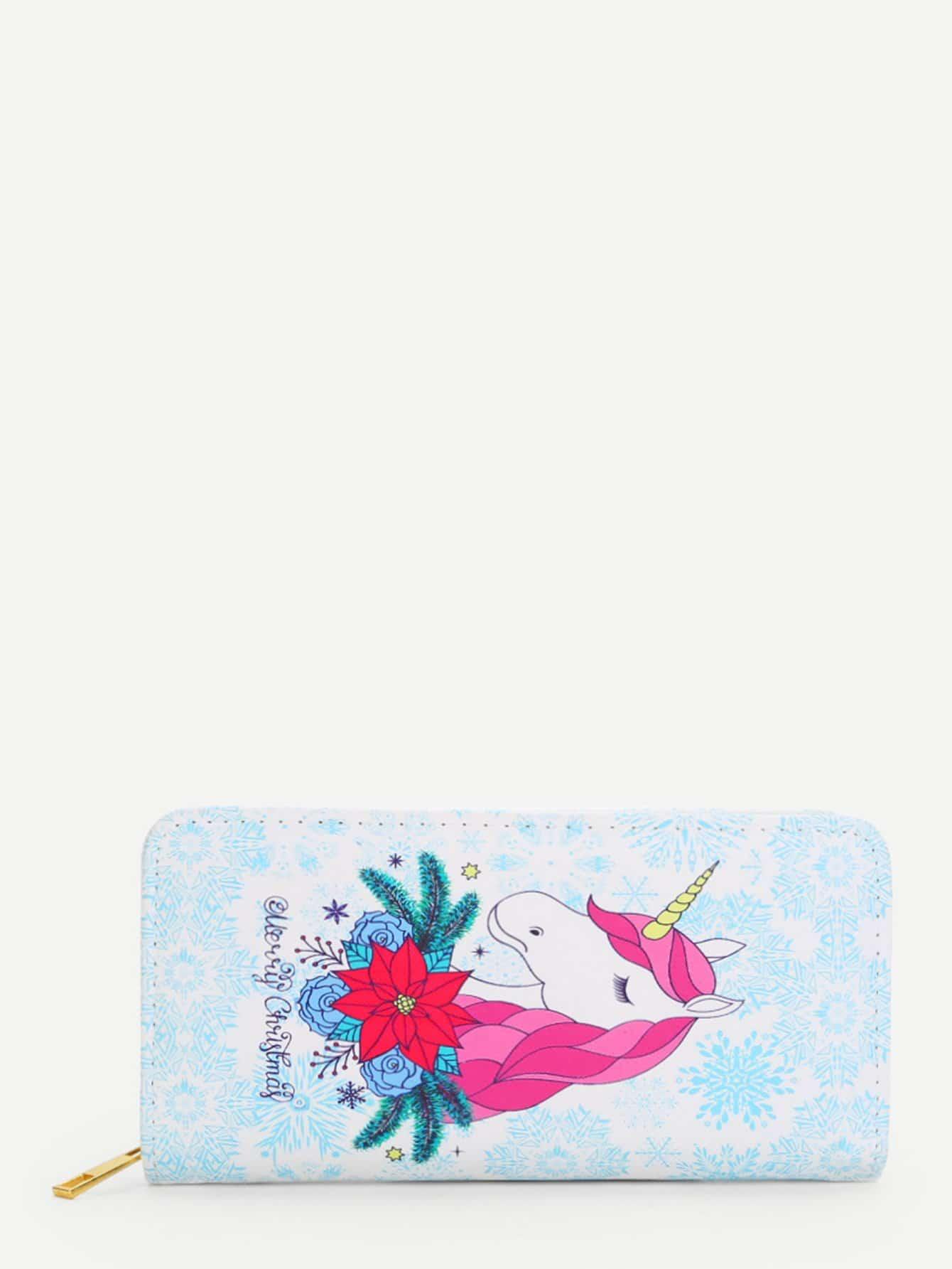 Horse Print PU Purse flower print pu purse
