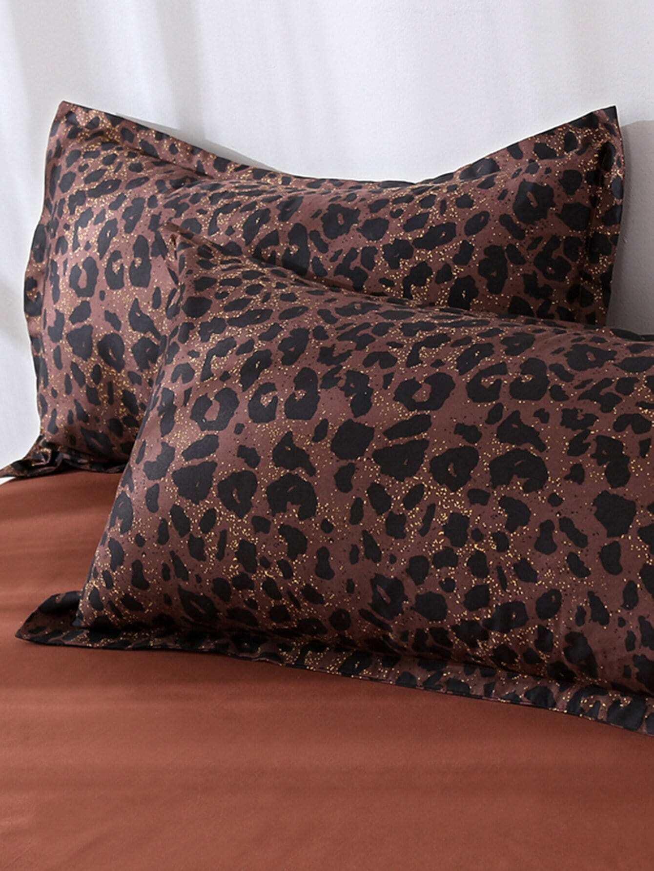 Leopard Print Pillowcase Cover pug print pillowcase cover
