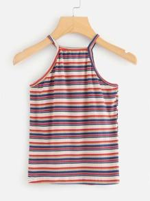 Striped Cami Top