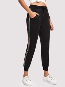Stripe Tape Side Sweatpants