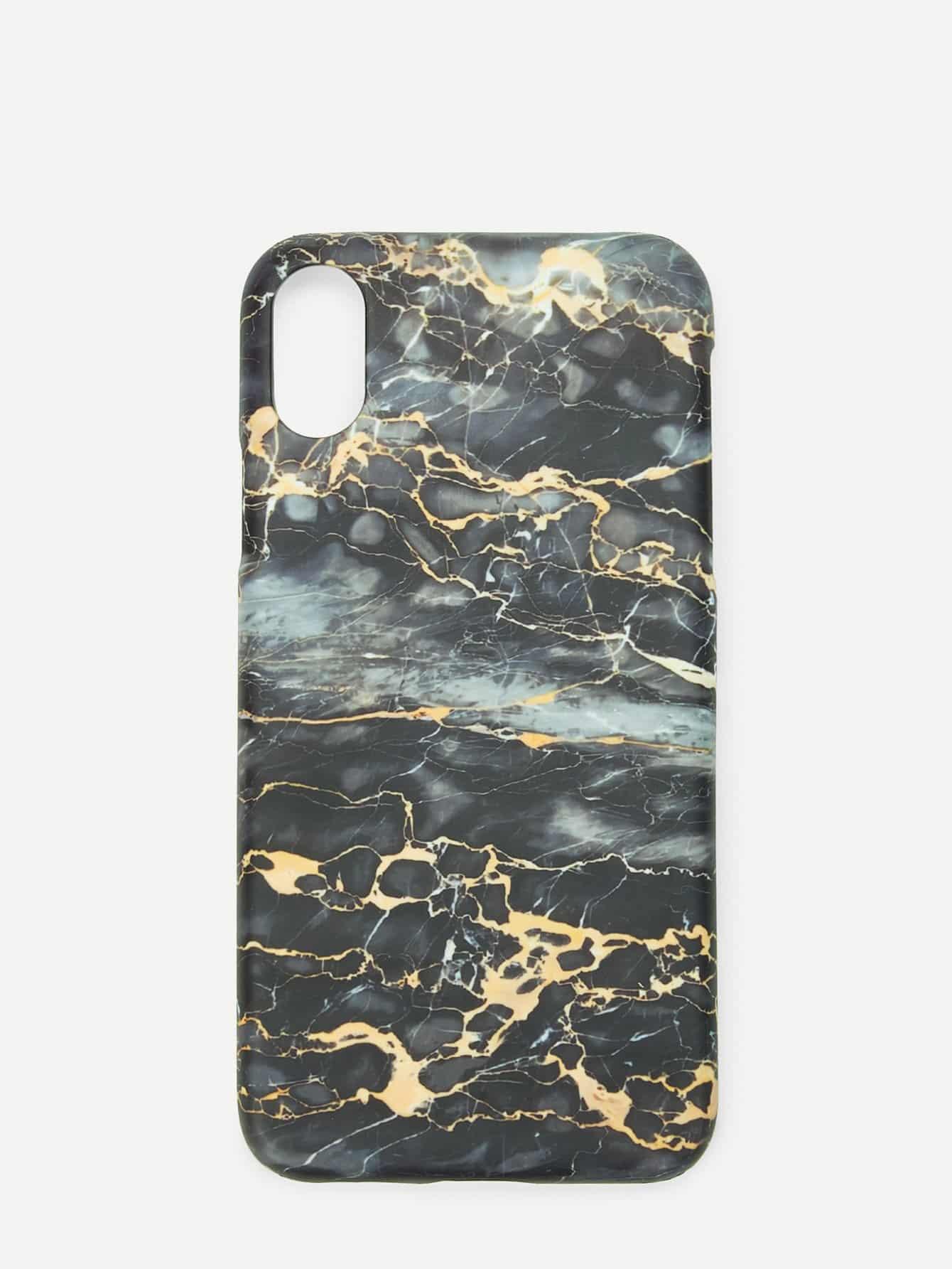 Купить Мраморный чехол для iPhone для iPhone, null, SheIn