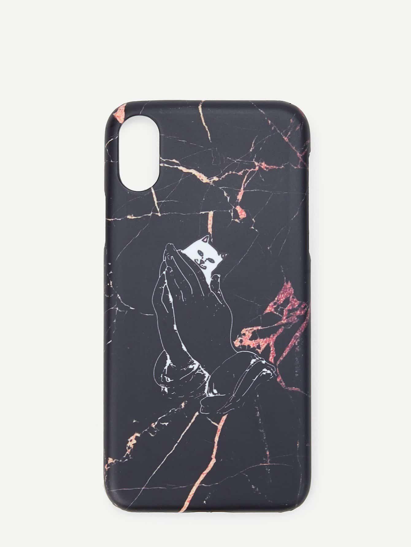 Купить Кожаный чехол для iPhone Кейт для iPhone, null, SheIn