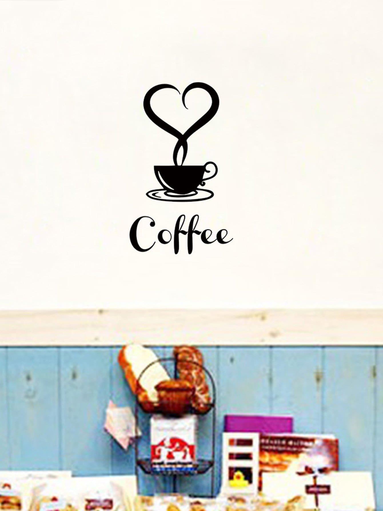 Coffee Wall Sticker цена
