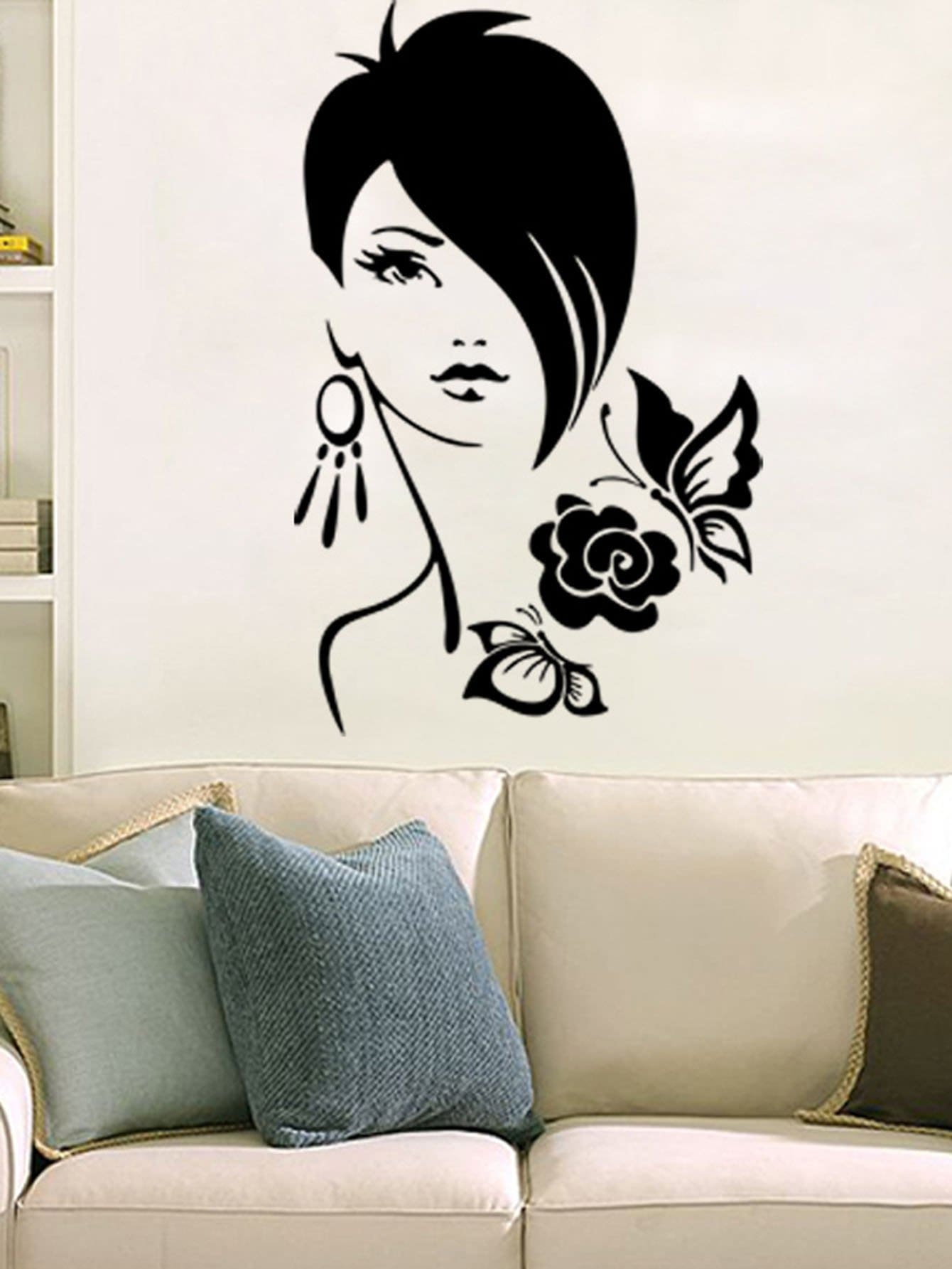 Young Lady Wall Decor