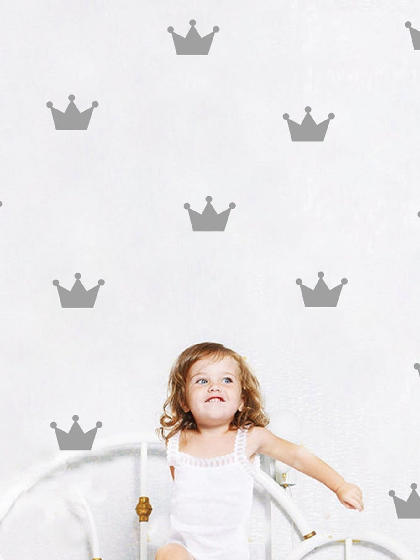 Crown Wall Sticker Pack 45 pcs pack animal blue whale fish mini paper sticker diary decoration diy scrapbooking label seal sticker stationery