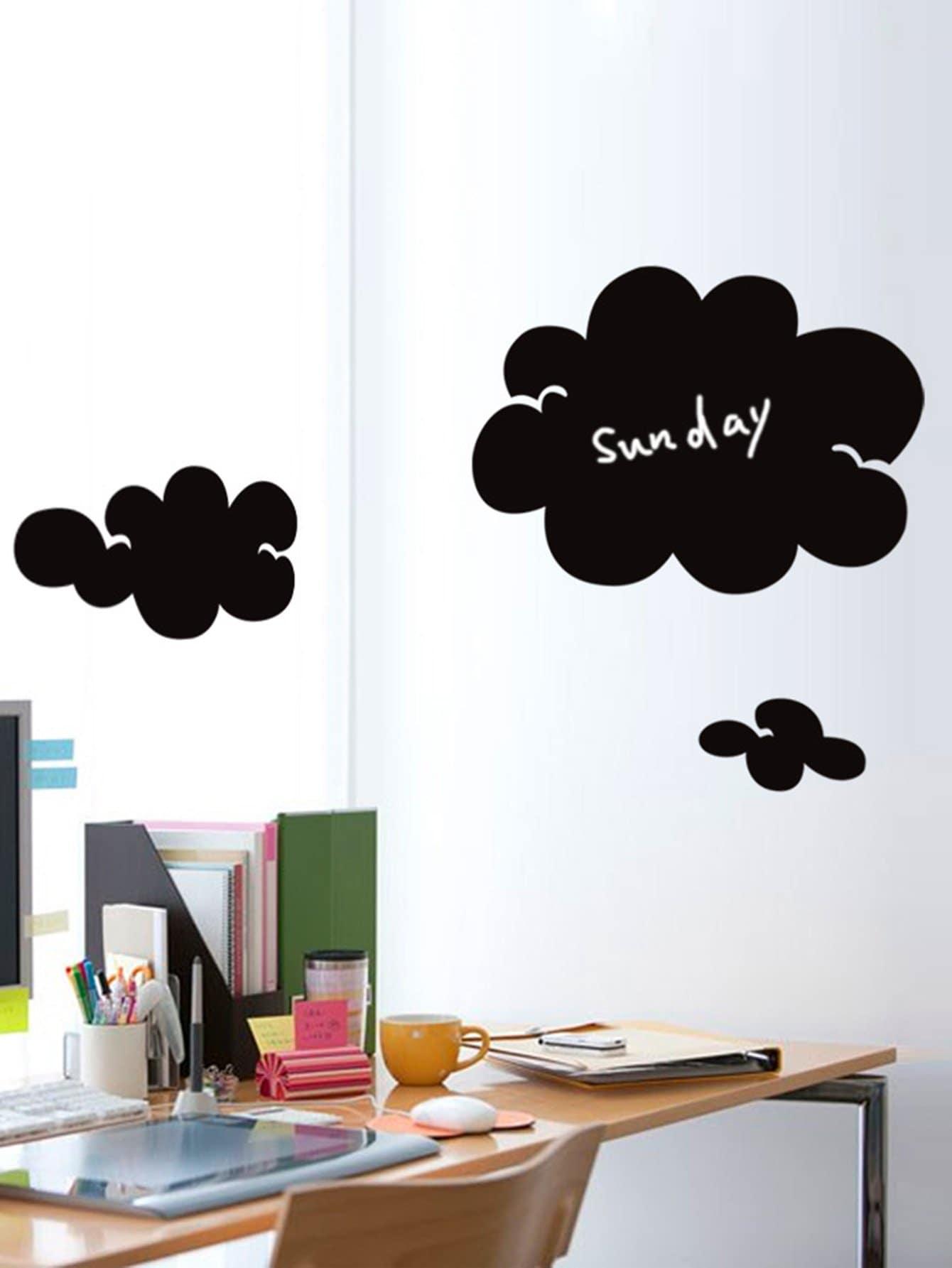 Cloud Blackboard Sticker Pack