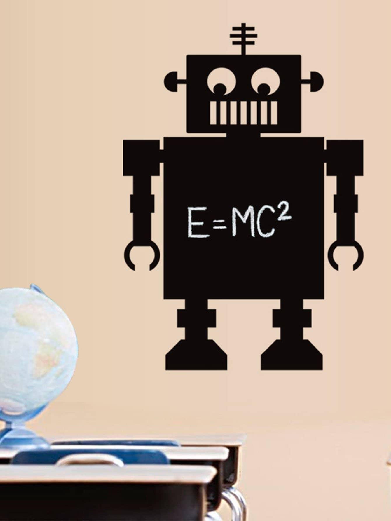 Robot Blackboard Sticker