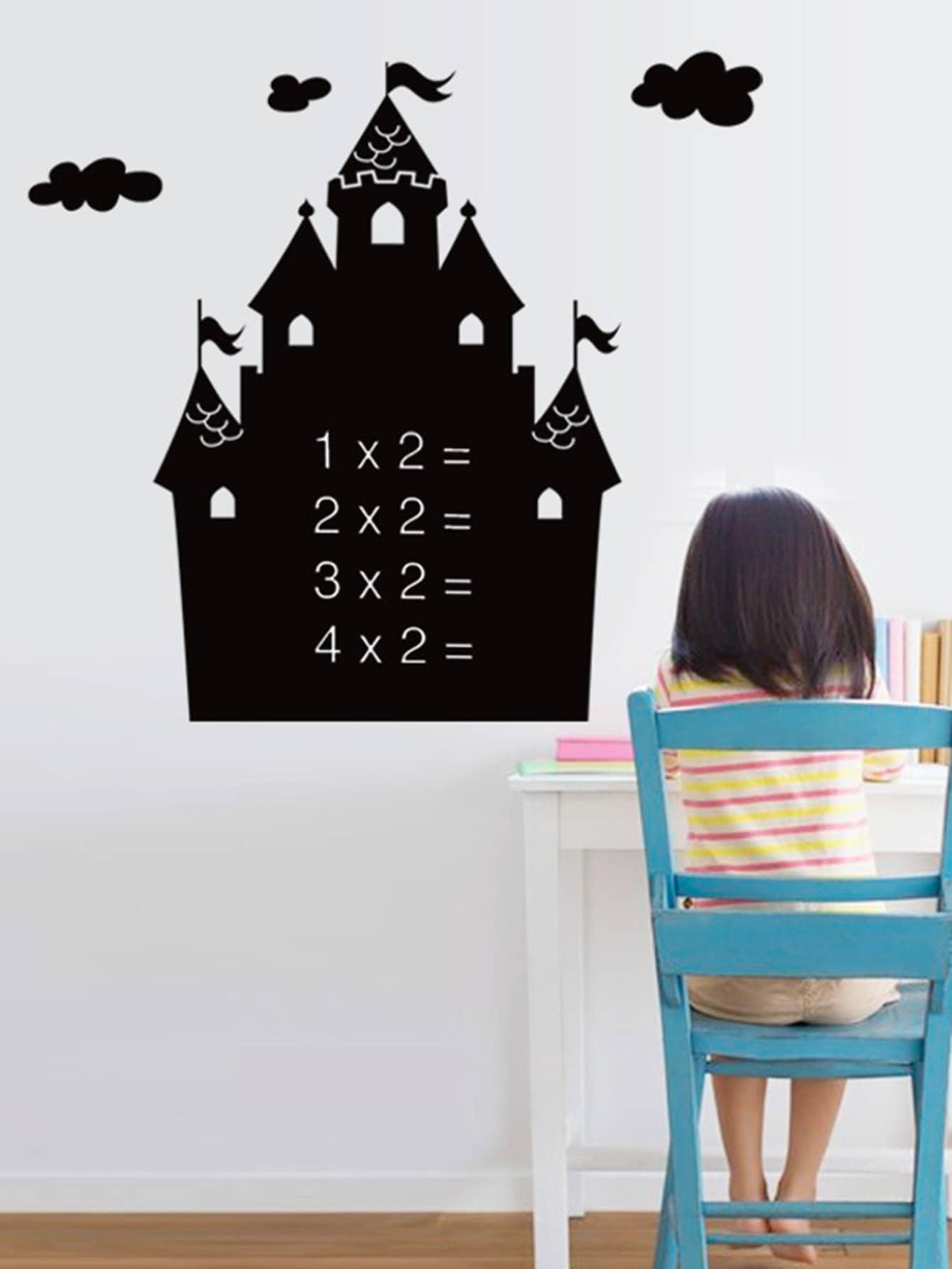 Castle Blackboard Sticker