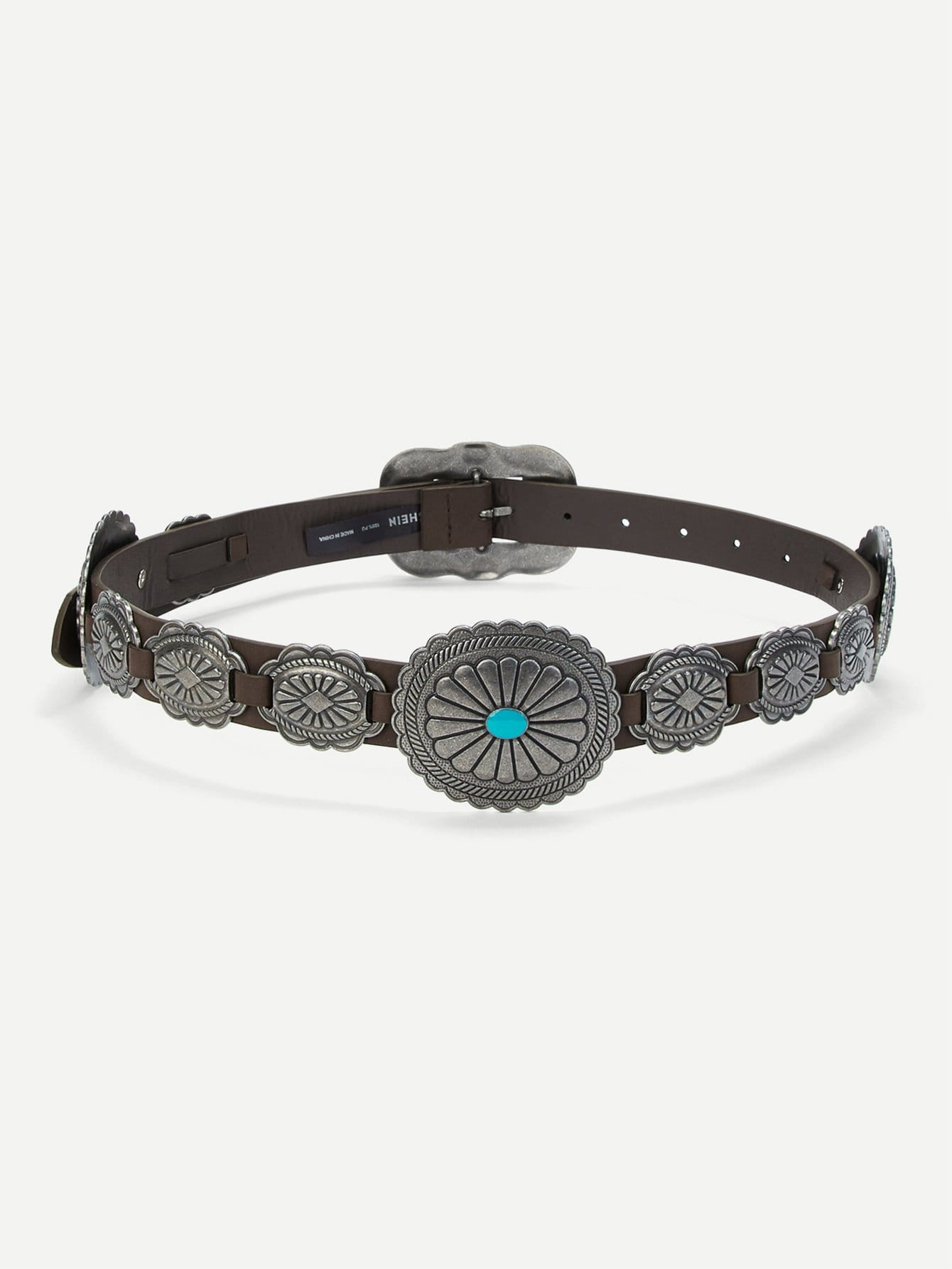 Metal Decorated Belt