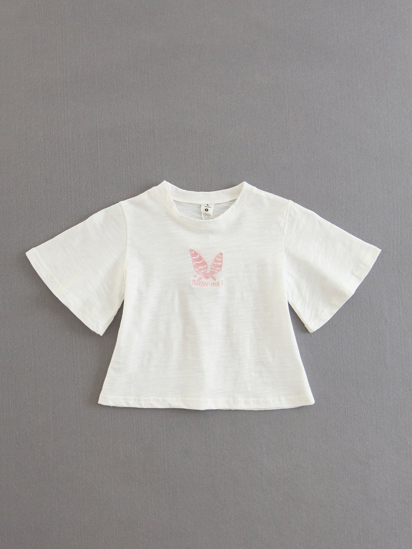 Butterfly Embroidered Tee butterfly embroidered tee