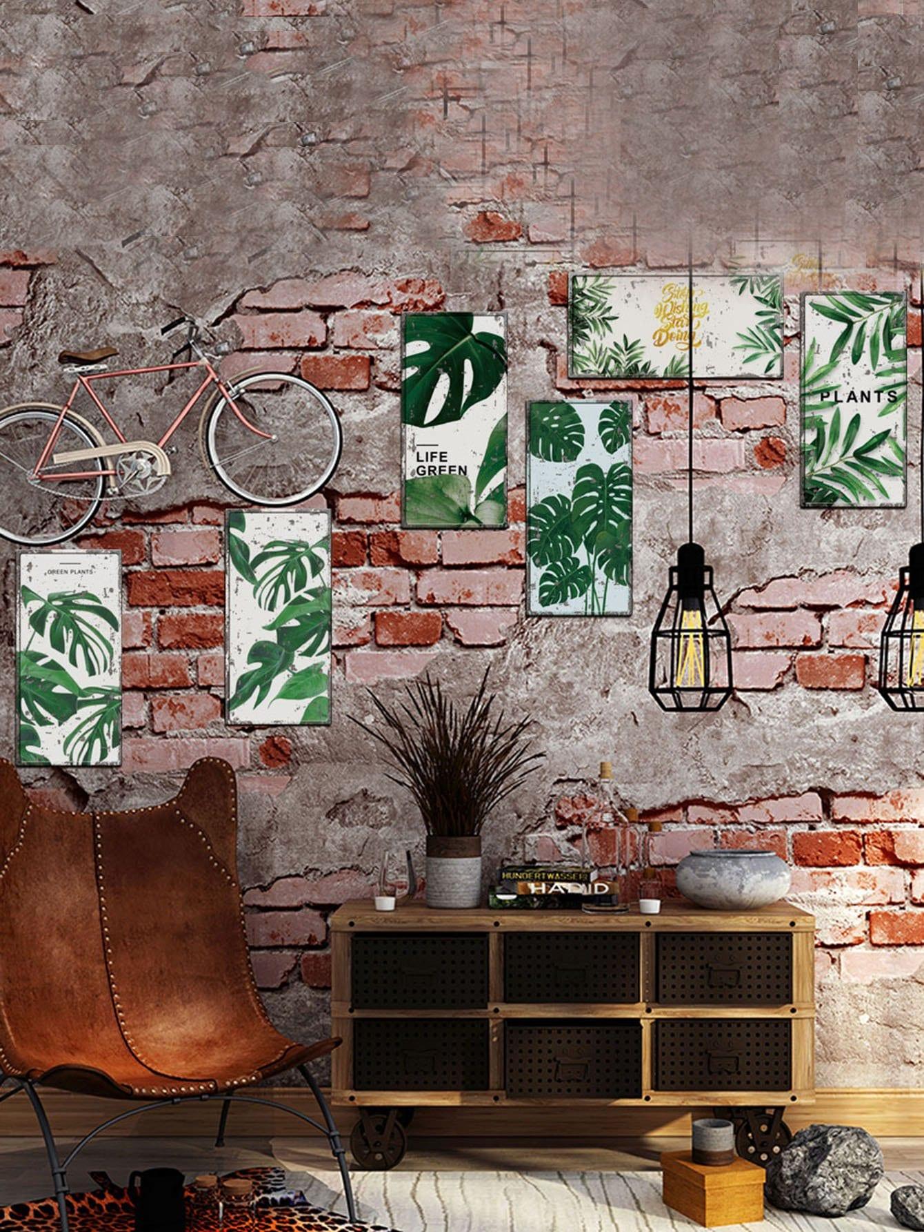 Купить Стикер стены стены джунглей 6pcs, null, SheIn