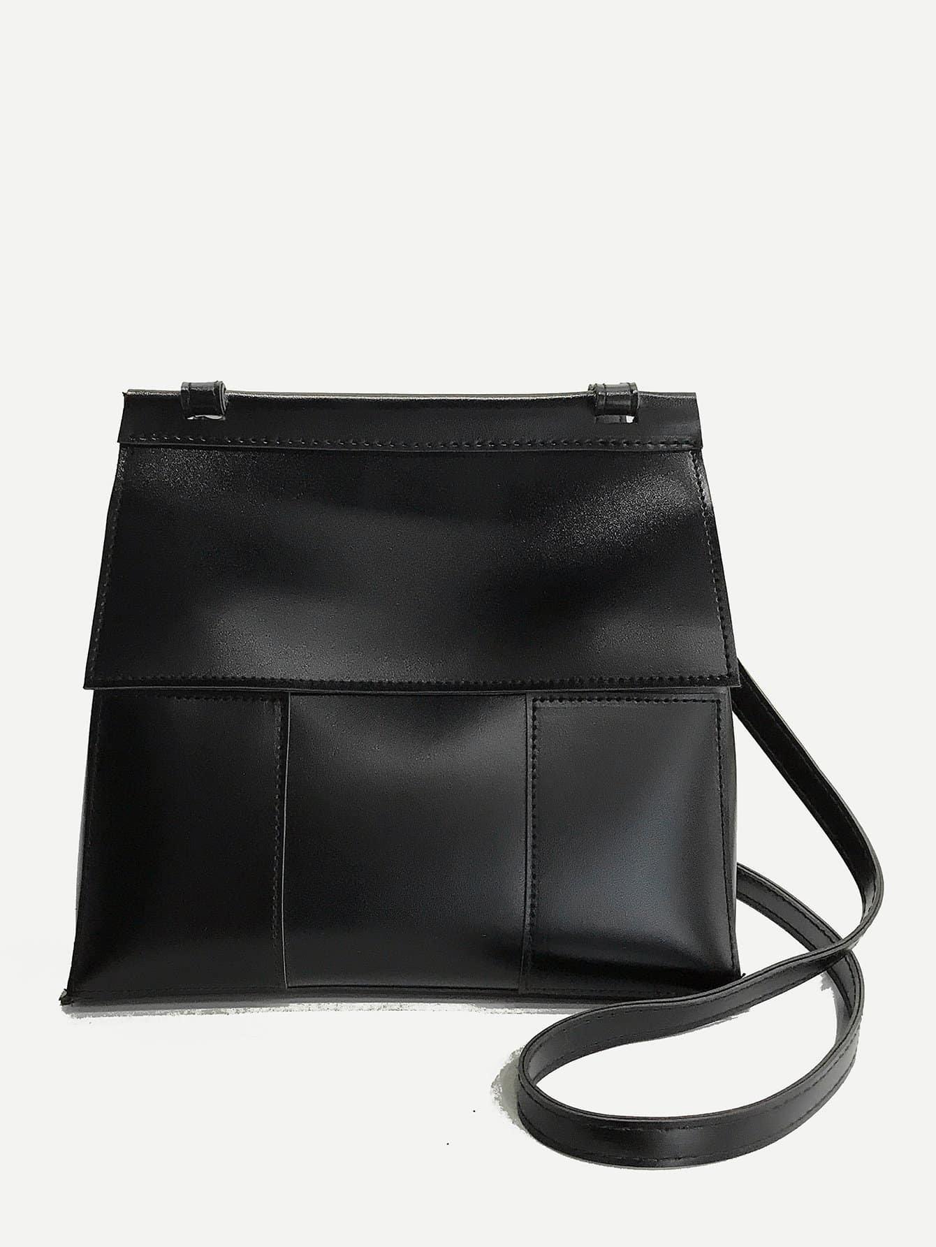Flap PU Crossbody Bag pu crossbody flap bag