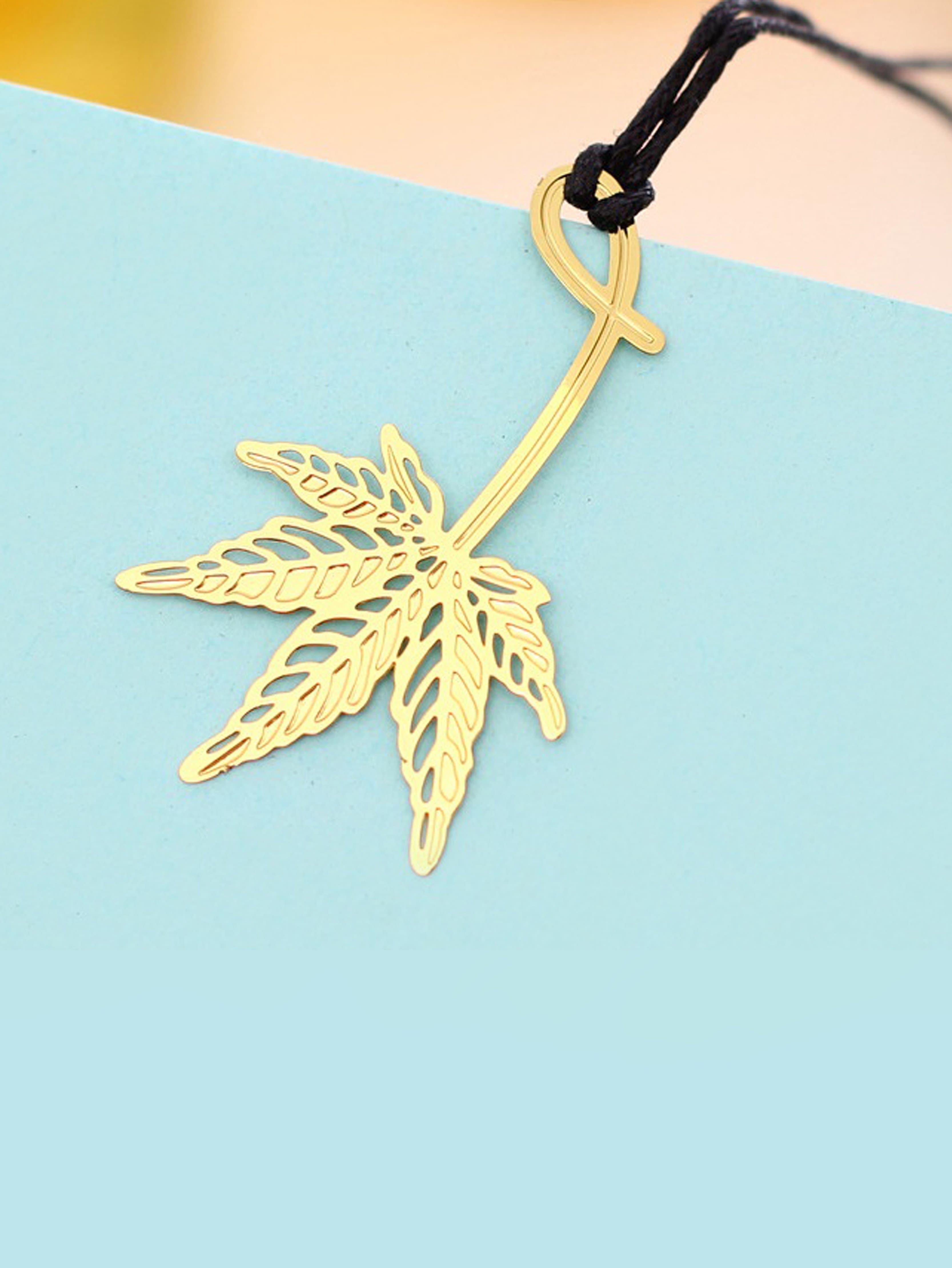 Metal Maple Leaf Book Mark юбка fz1850 maple leaf 2014