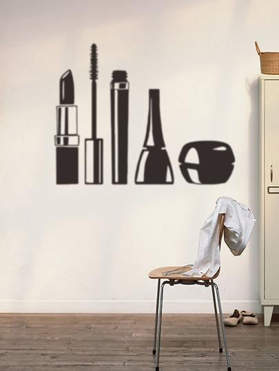 Makeup Tool Wall Decal