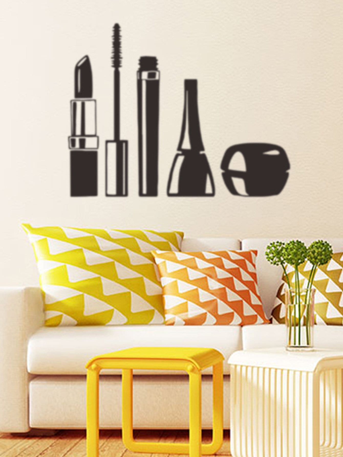 Фото Makeup Tool Wall Decal family wall quote removable wall stickers home decal art mural