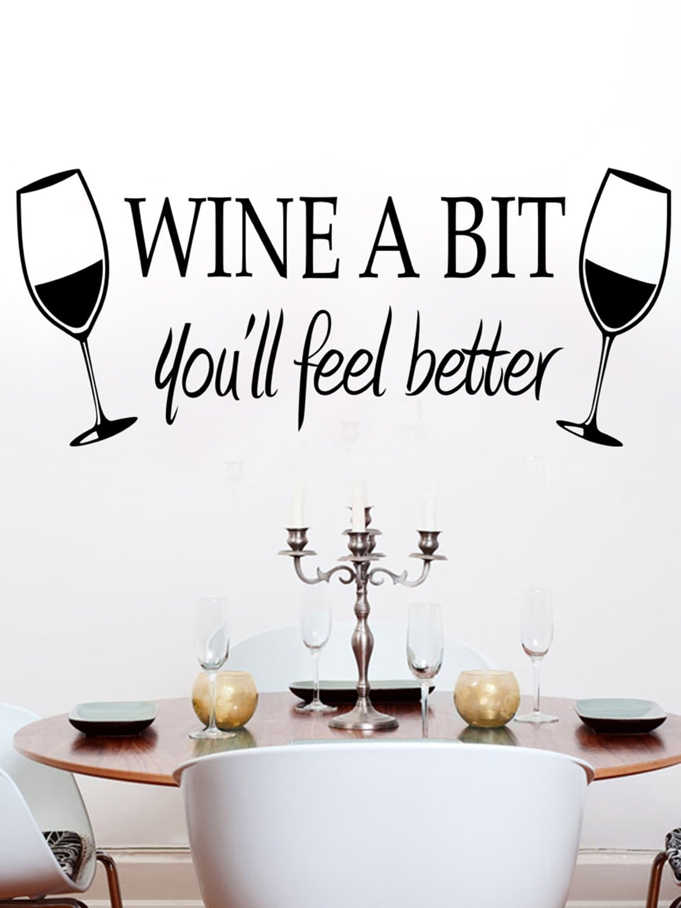 Double Wine Wall Decal double wine wall decal