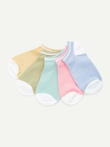 Cotton Ankle Socks 5 Pairs