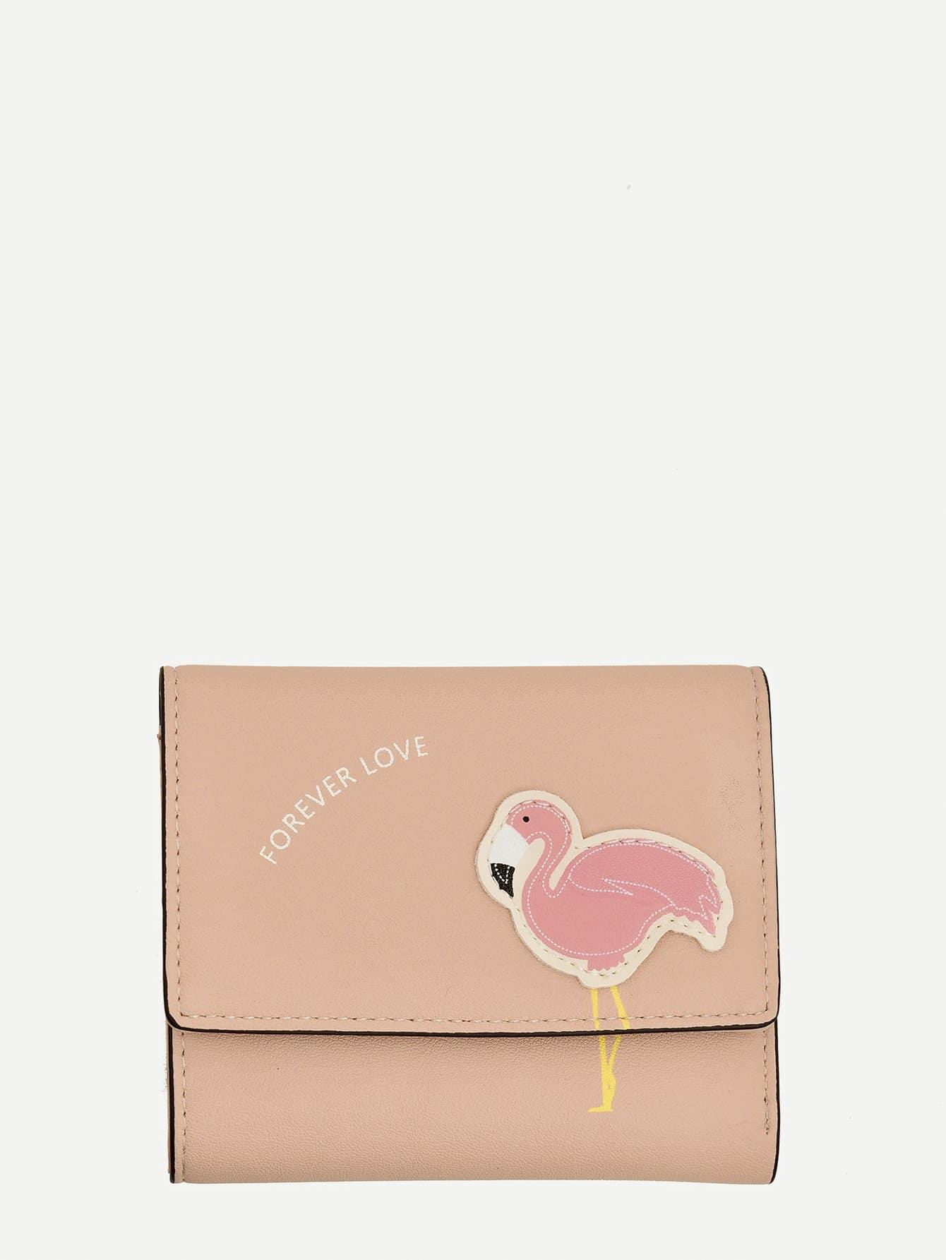 Flamingo Patch Purse все цены