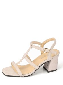 Block Heeled Gladiator Sandals