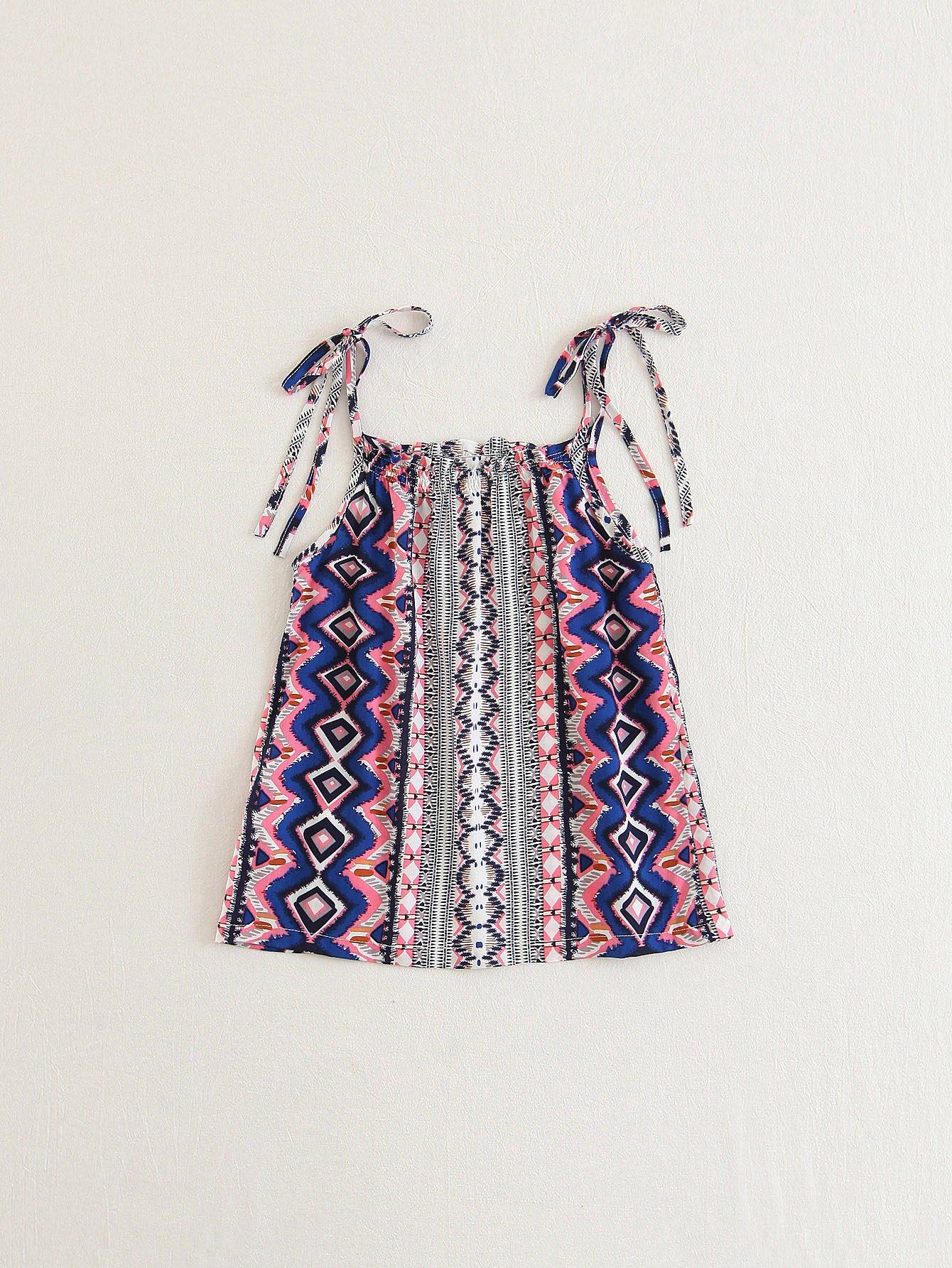 все цены на Girls Geo Print Cami Dress