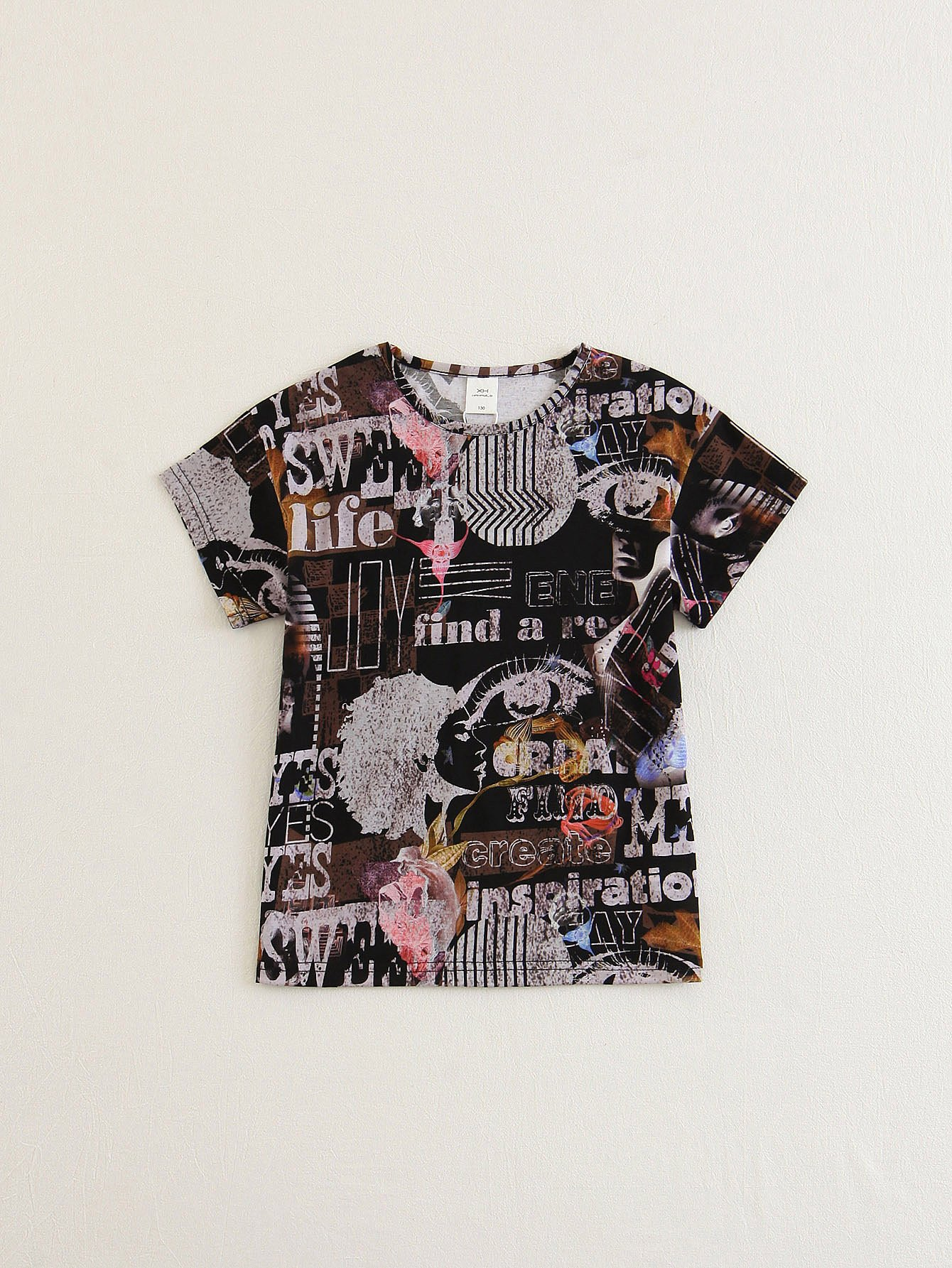 все цены на Boys Graphic Print T-shirt