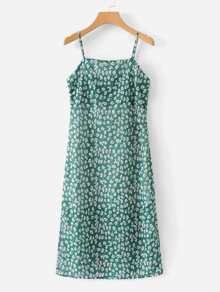 Calico Print Cami Dress