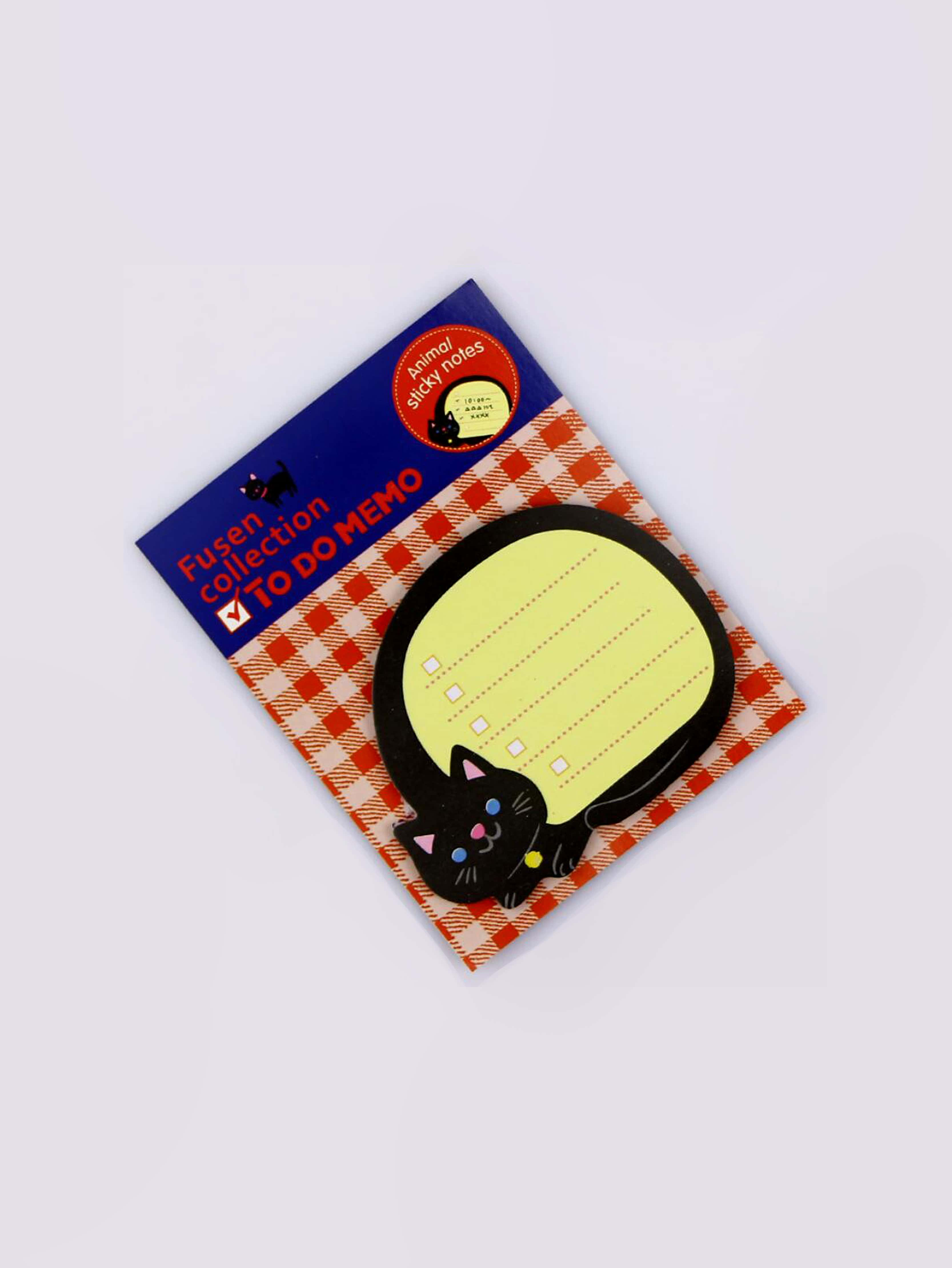 Cat Sticky Memo Pads 18sheets convenient rectangle sticky note memo pads 4 x 100 pieces