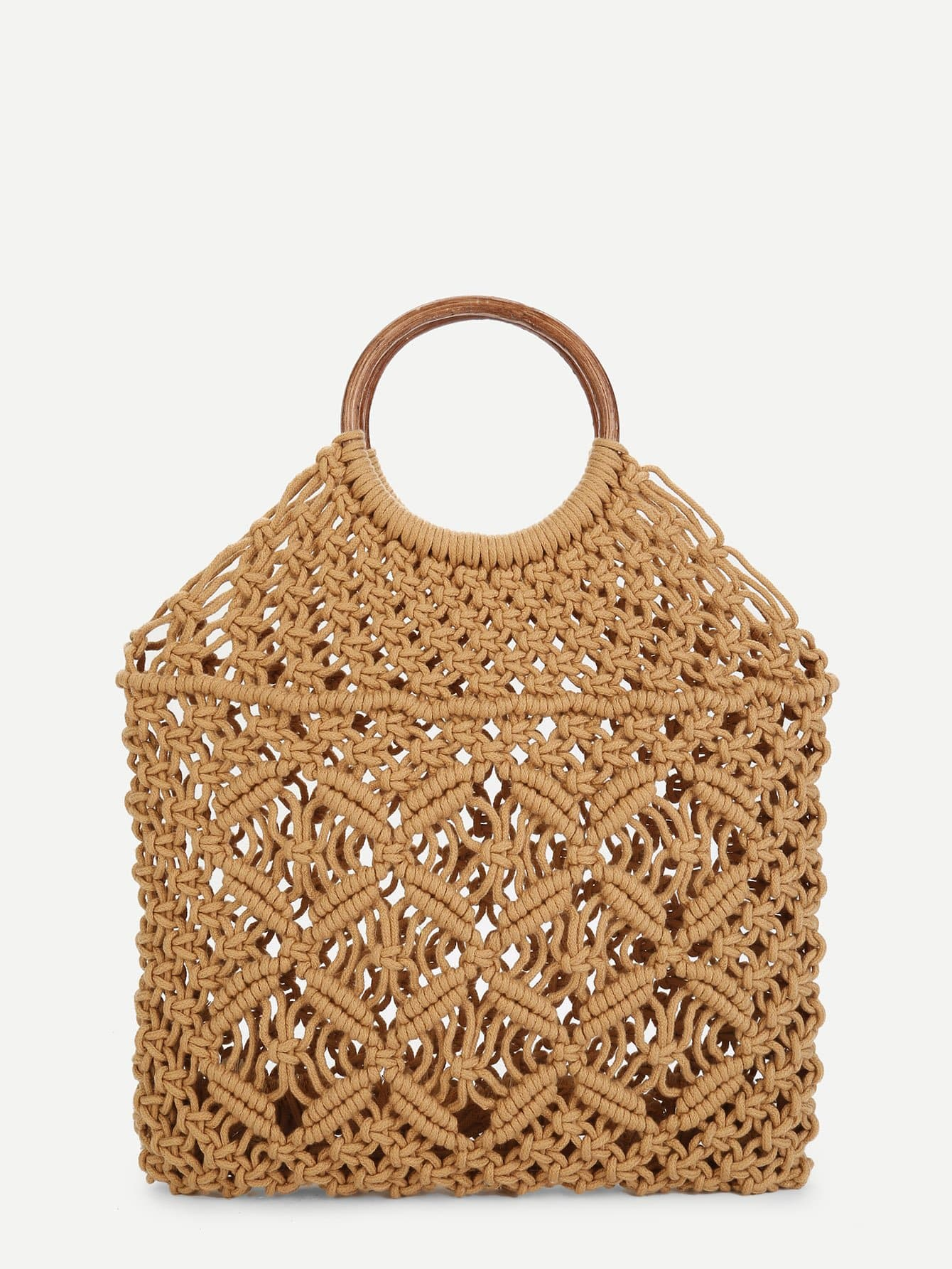Woven Tote Bag With Ring Handle huawei ups2000 g 6krtl page 3