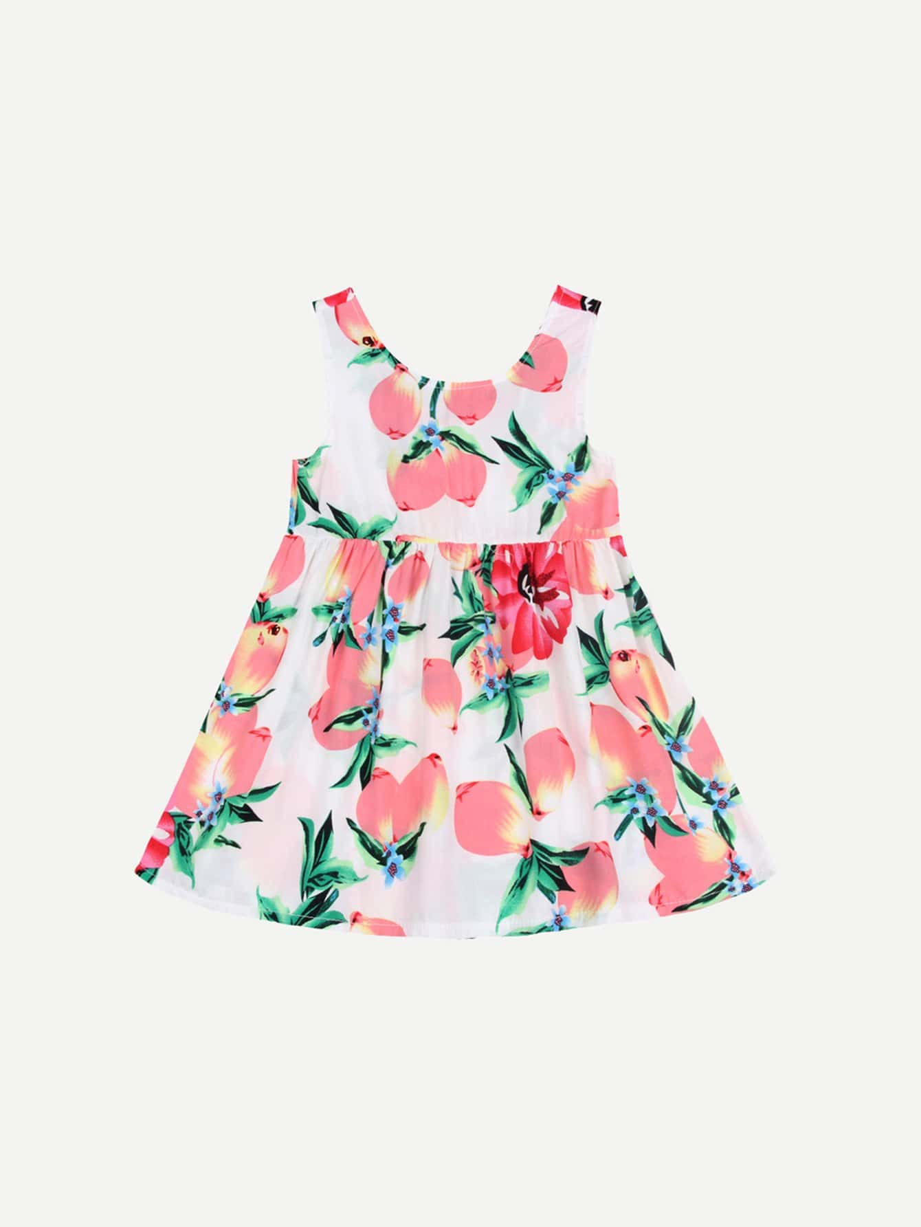 Kids Peach Print Vest Dress 24 12 200mm od id length brass seamless pipe tube of astm c28000 cuzn40 cz109 c2800 h59 hollow bar iso certified free shipping