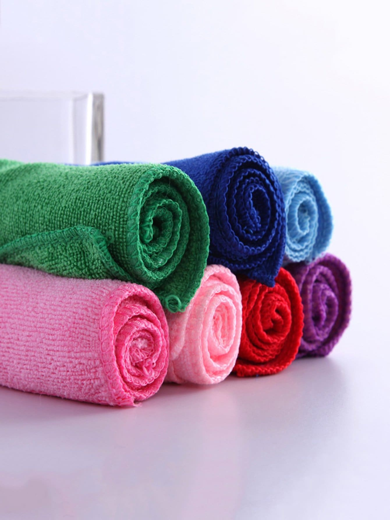 Random Color Simple Towel 1pc random cartoon ceramic tile decal 1pc