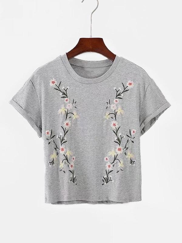 Embroidery Marled Knit Tee nike db marled jdi tee