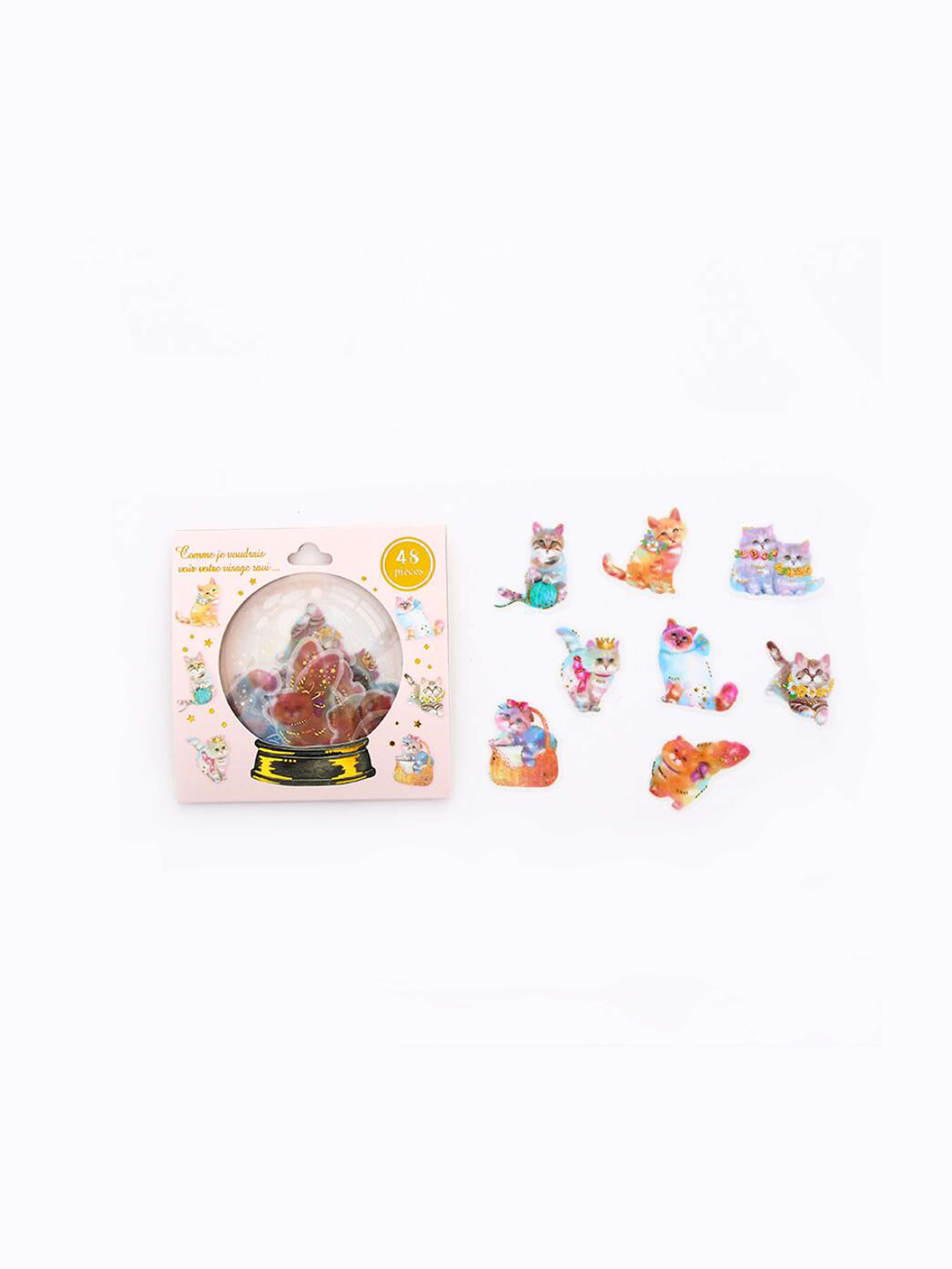 Cat Sticker Pack 48pcs