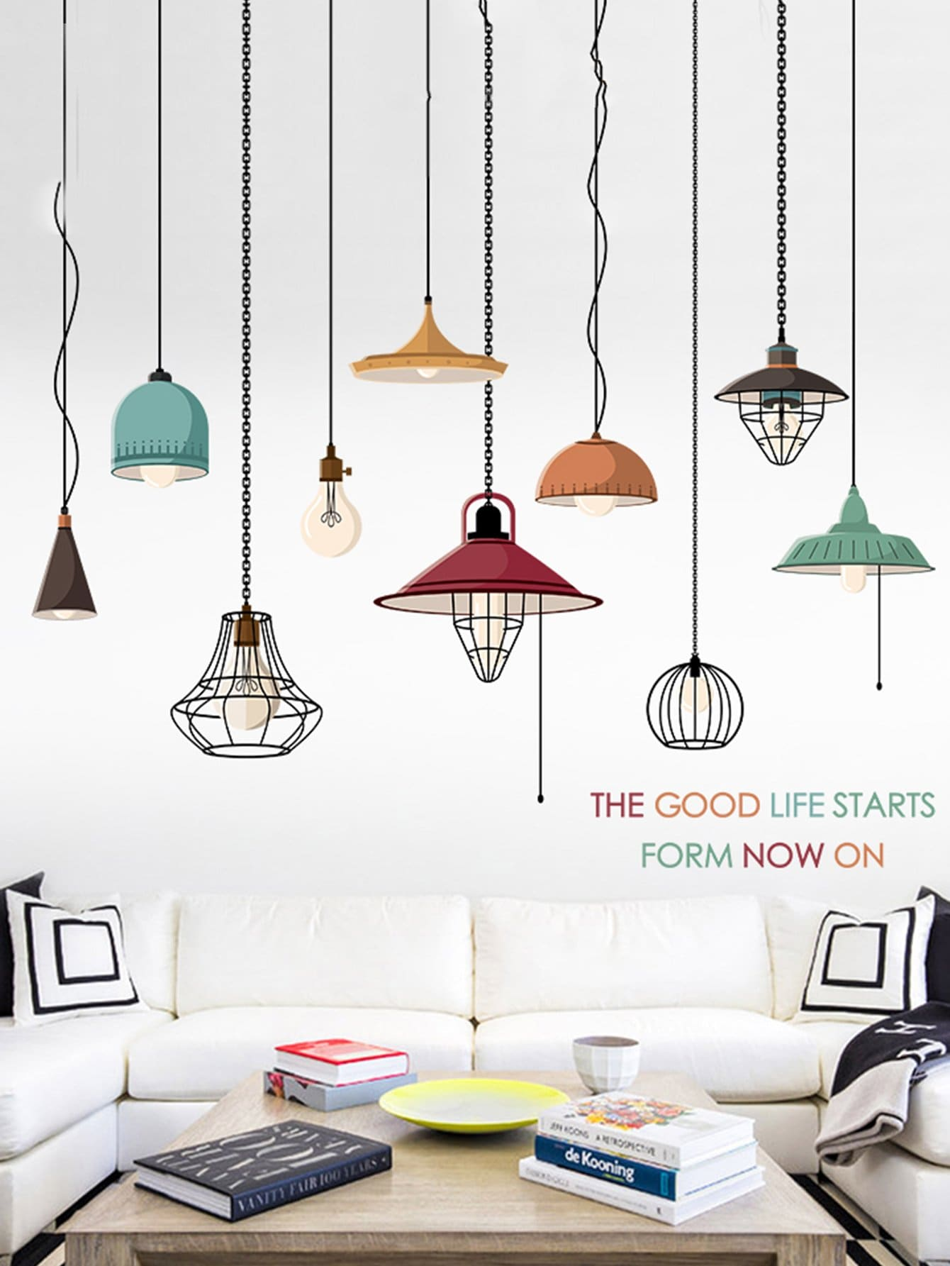 Light Wall Decal family wall quote removable wall stickers home decal art mural
