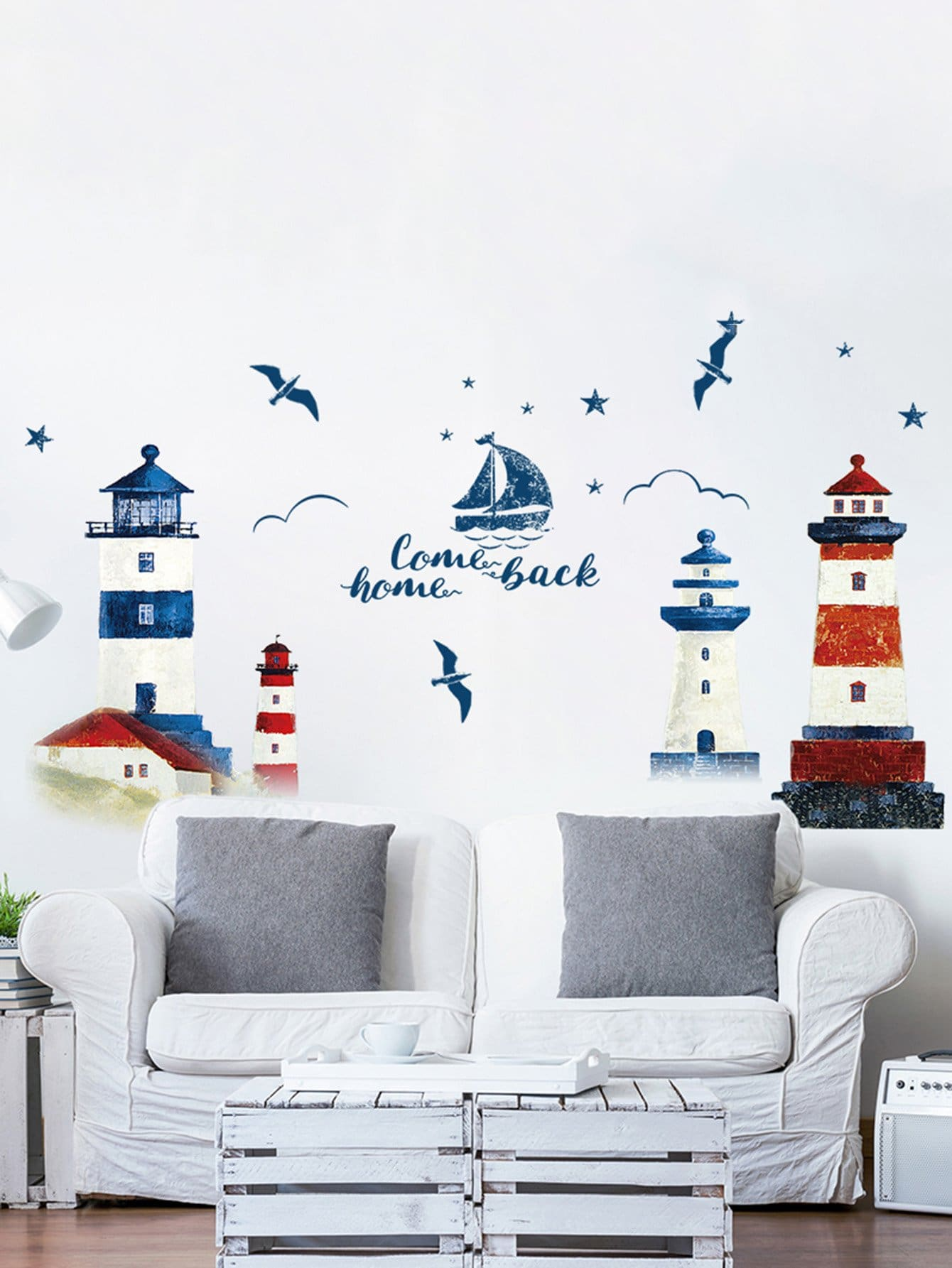 Lighthouse Wall Decal lighthouse project lighthouse project we are the wildflowers