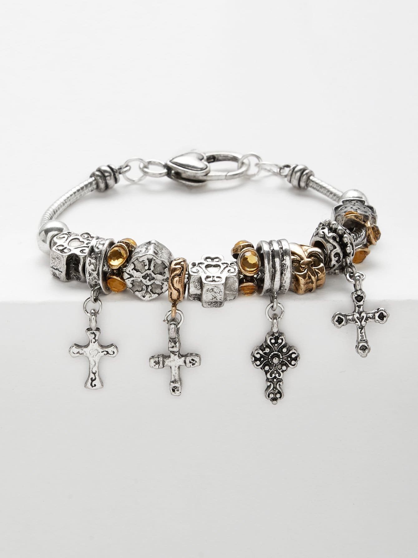 цены Cross Decorated Bracelet