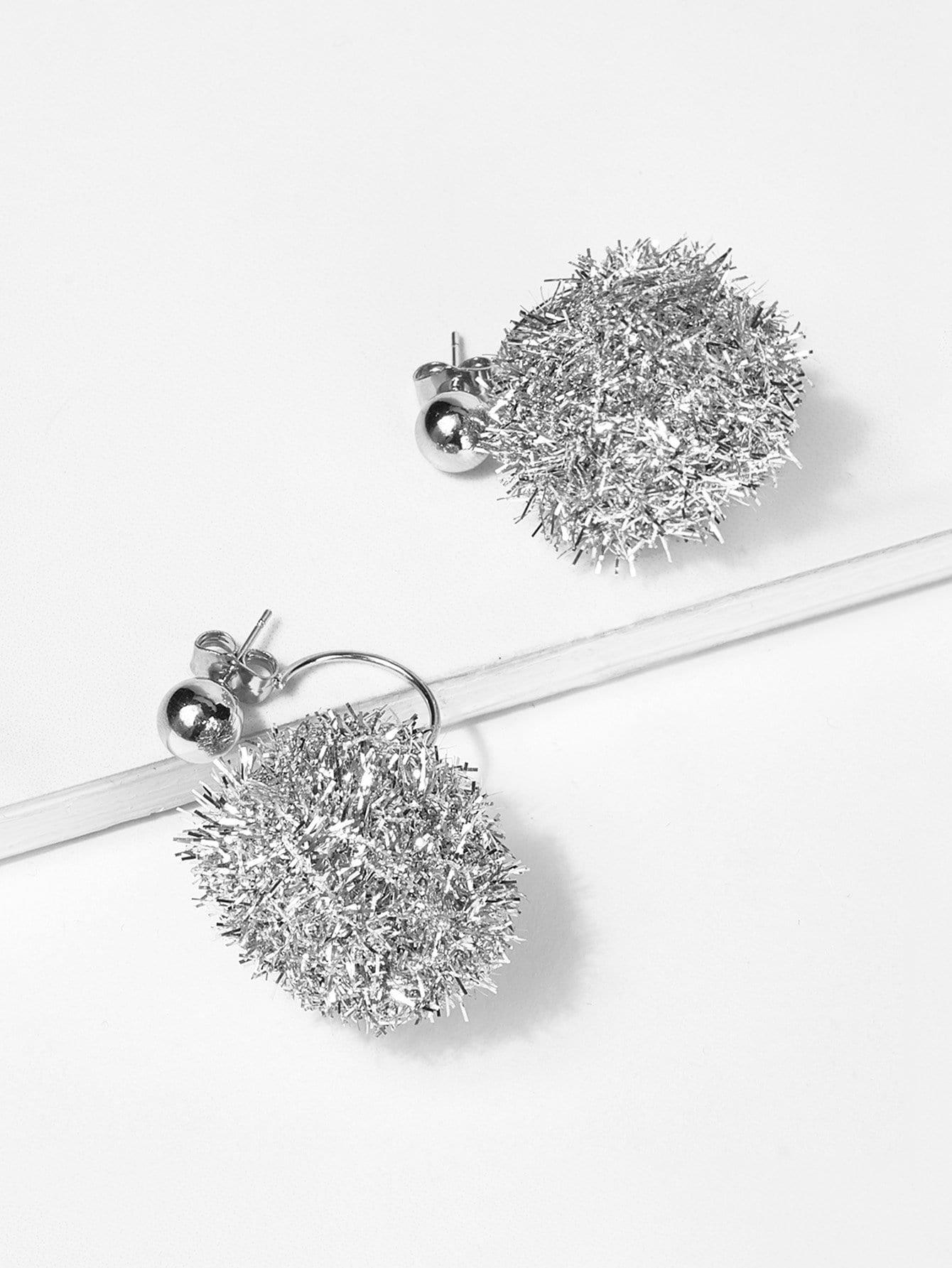 Серьги с бриллиантами, null, SheIn  - купить со скидкой