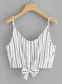Knot Striped Cami