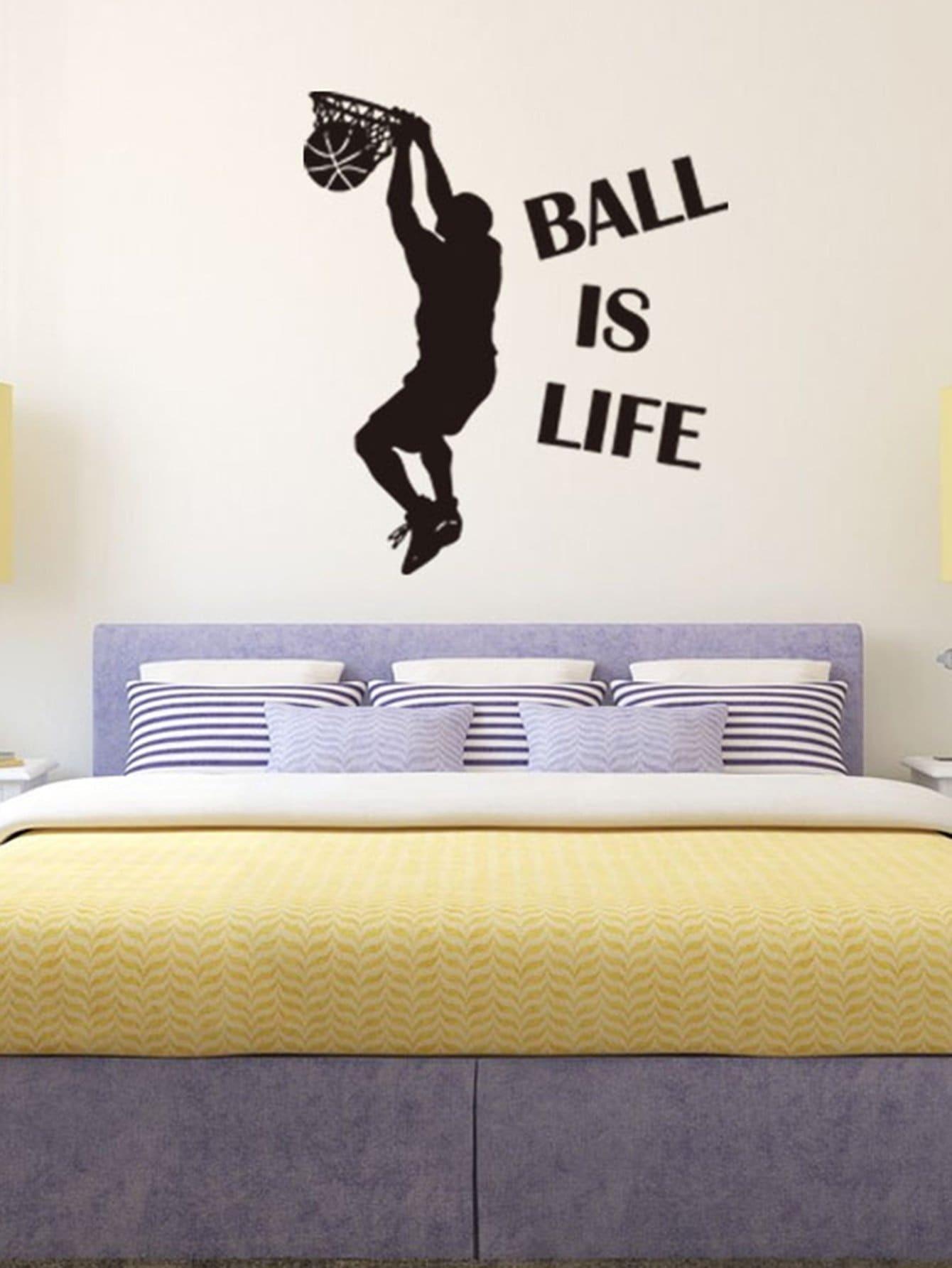 Dunk Boy Wall Decal family wall quote removable wall stickers home decal art mural