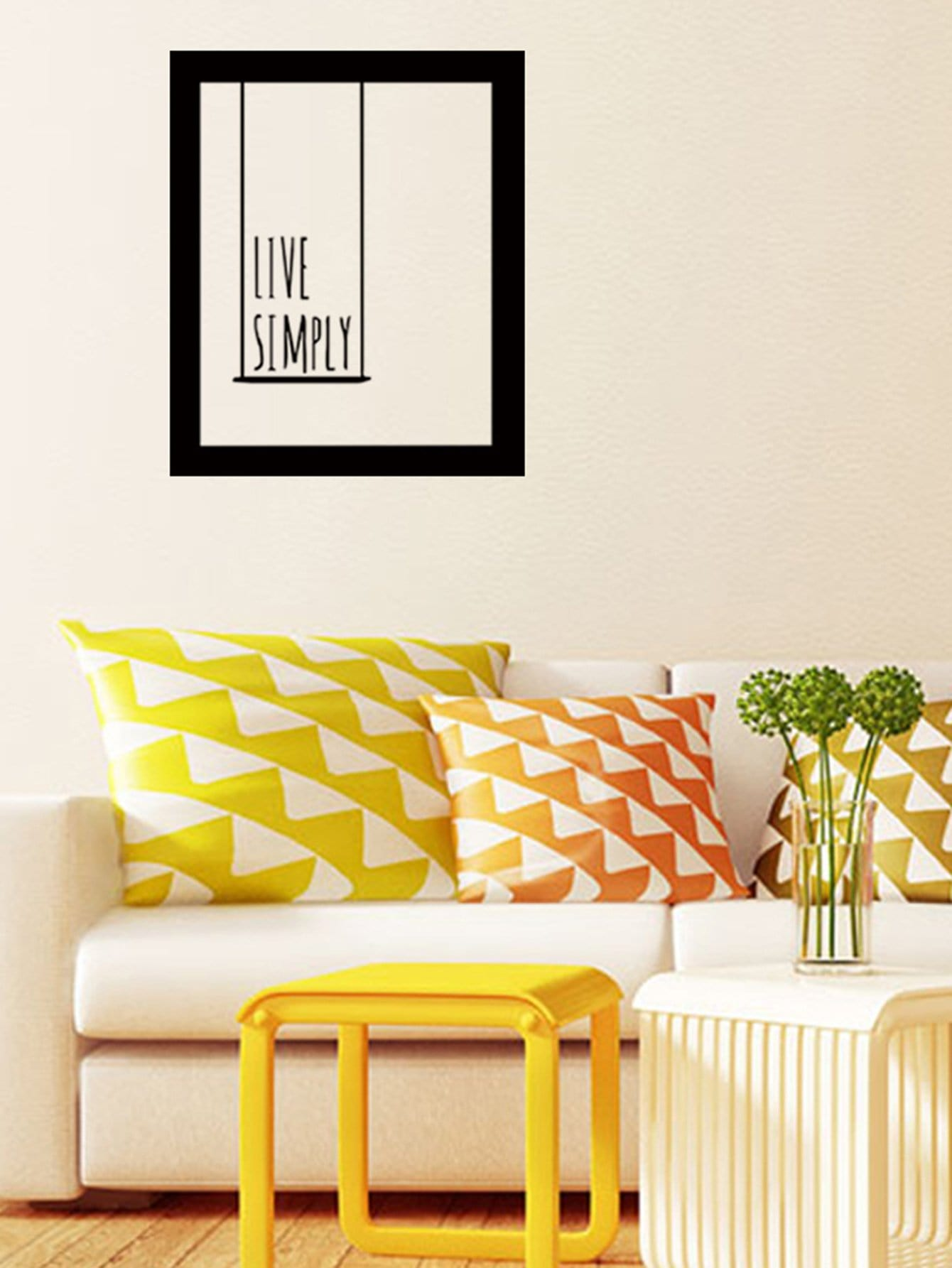 Фото Picture Frame Wall Decal family wall quote removable wall stickers home decal art mural