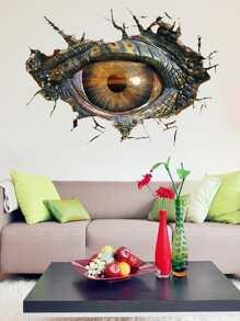 3D Animal Eye Wall Decal ROMWE