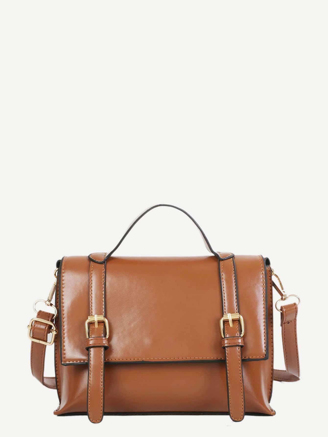 Front Buckle Satchel Bag сумка the cambridge satchel