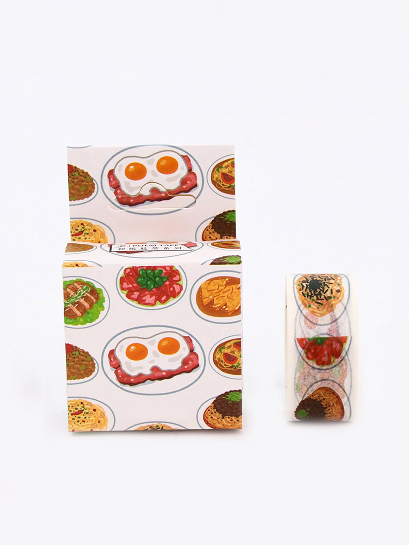 Comic Egg Adhesive Tape sunglasses pattern adhesive tape