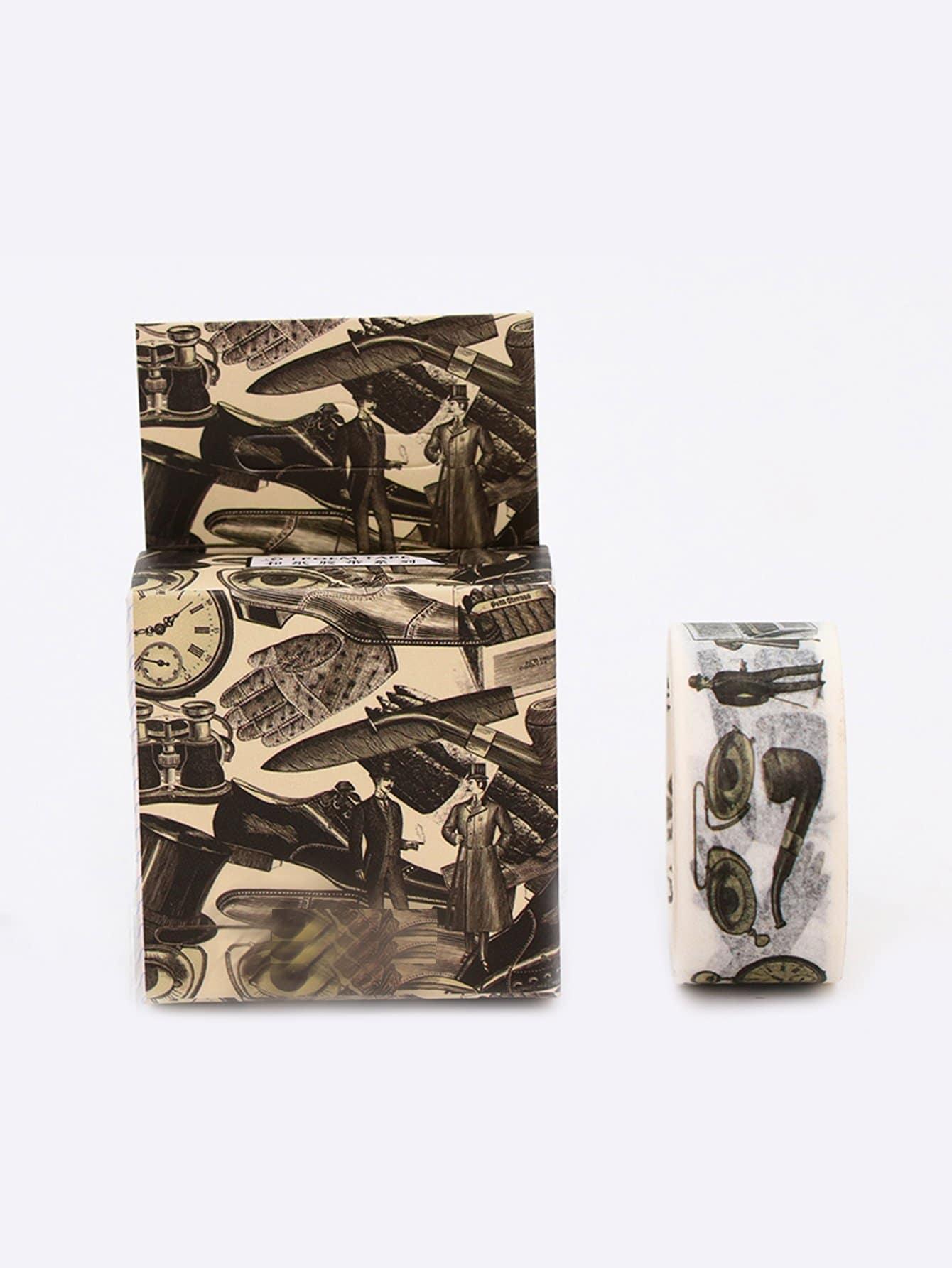 Gentleman Pattern Adhesive Tape sunglasses pattern adhesive tape