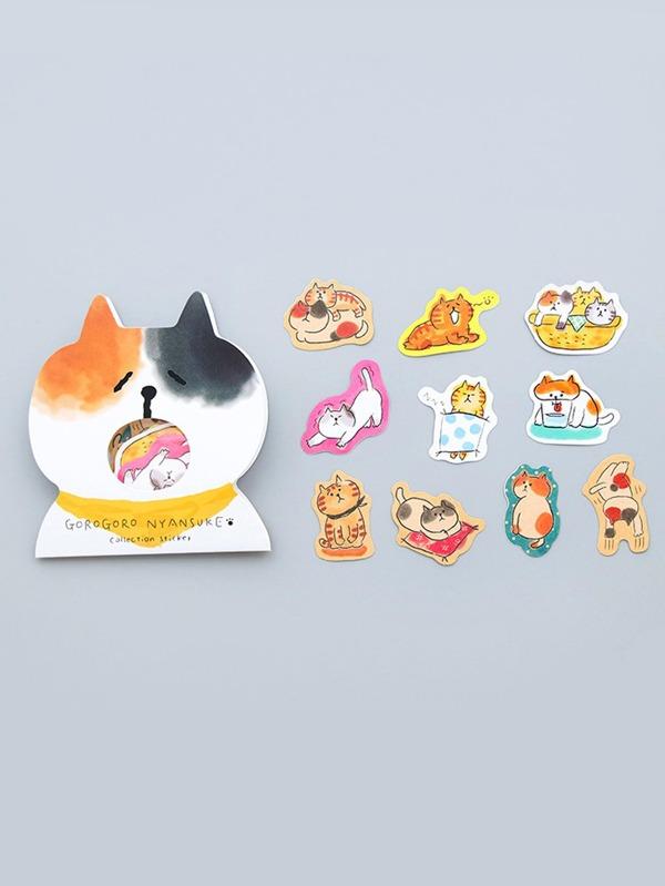 Cat Sticker Pack 30pcs by Sheinside