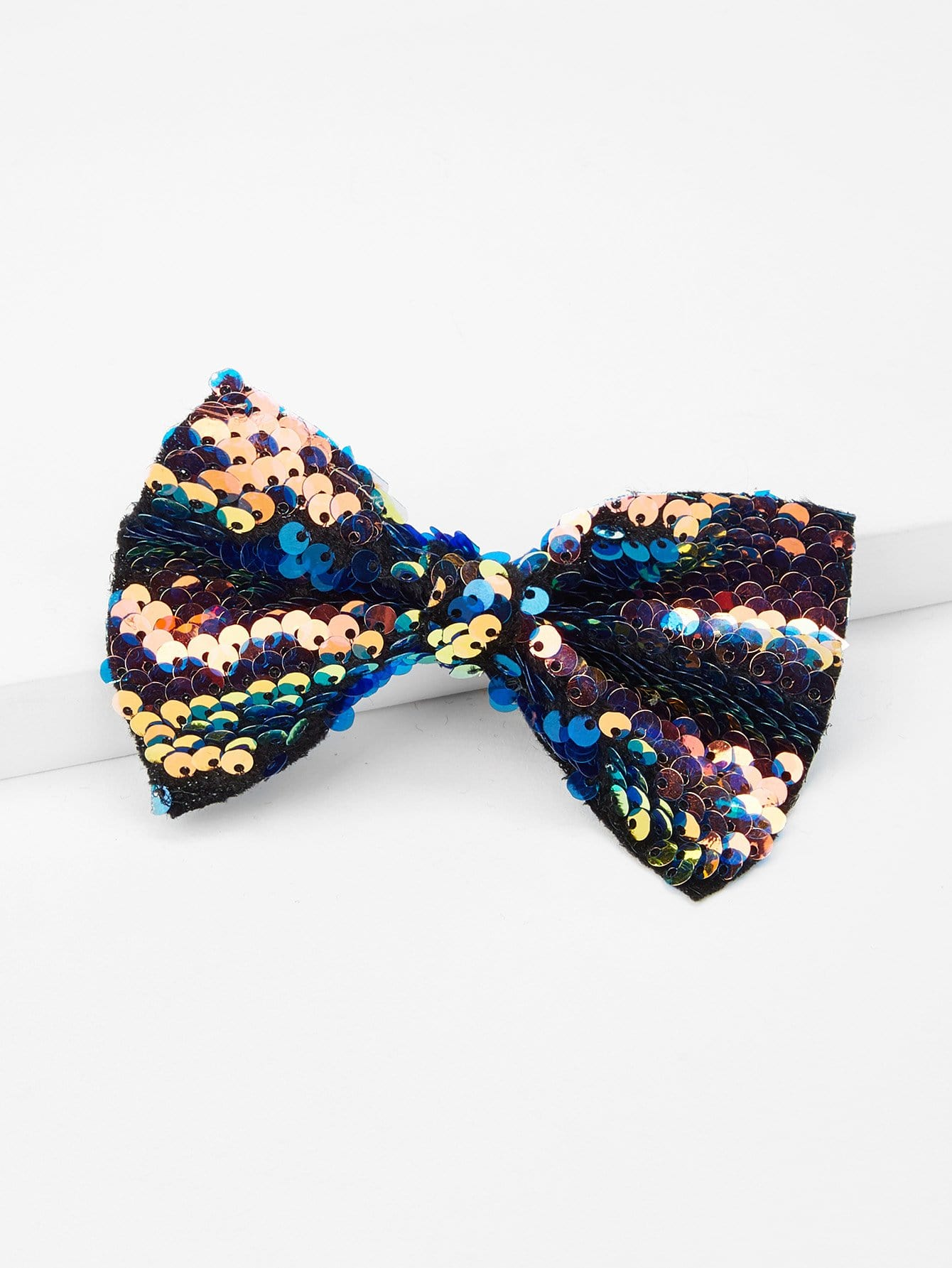 Sequin Bow Design Kids Hair Clip 40pcs lot 3 inch high quality grosgrain ribbon hair bow tie with without clip kids hairpin headwear bowknot accessories hdj15