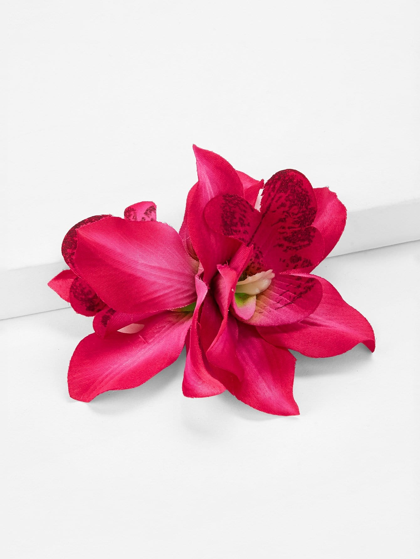 Double Flower Design Kids Hair Clip
