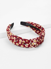 Calico Print Headband